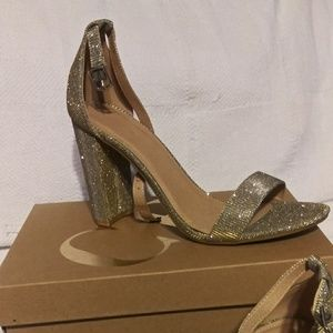 Charlotte Russe Silver and gold Heels